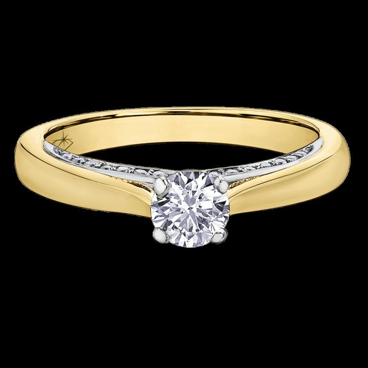1af00f06871d2a 0.55 CARAT DIAMOND RING (SI2-G) | Bague… | Bijouteries Lavigueur