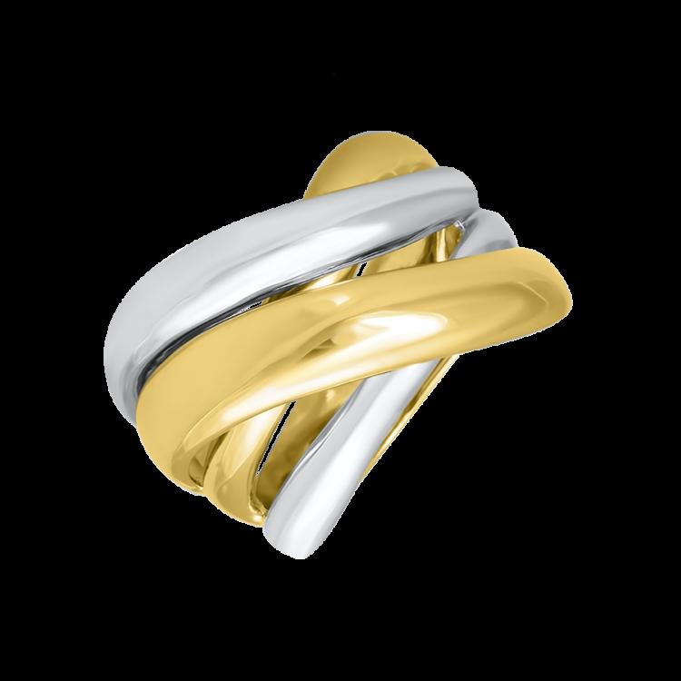 bague or jaune et pierre